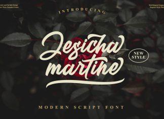 Jesicha Martine Script Font