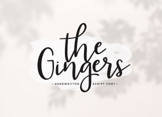 The Gingers Script Font