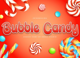 Bubble Candy Display Font