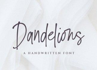 Dandelions Font