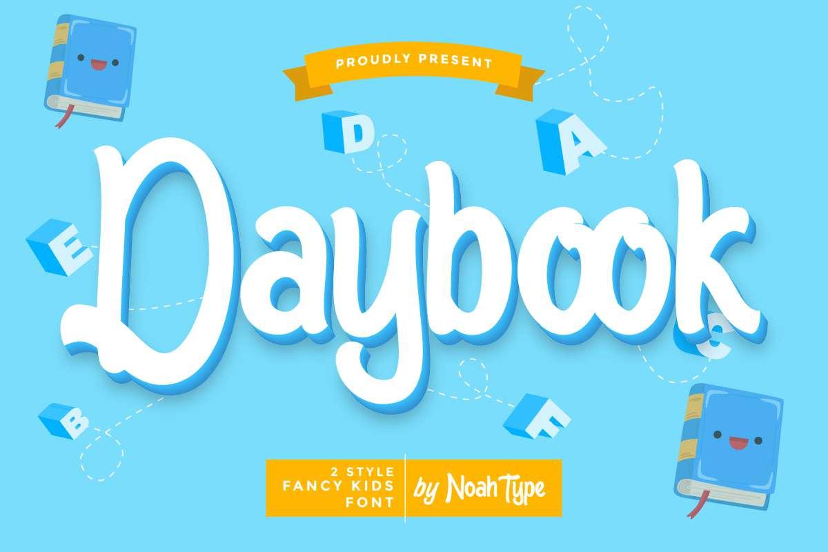 Daybook Display Font