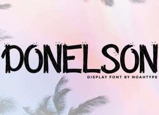 Donelson Brush Font