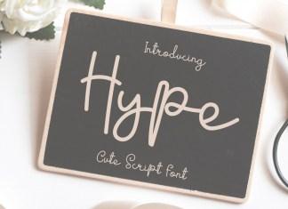 Hype Handwritten Font