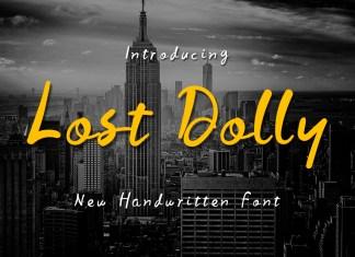 Lost Dolly Script Font