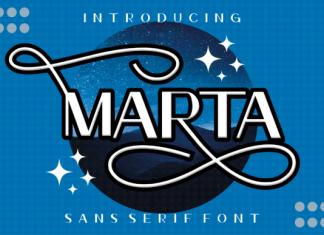 Marta Sans Serif Font