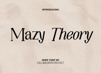 Mazy Theory Serif Font