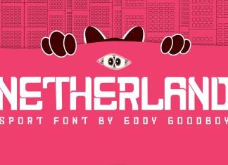 Netherland Display Font