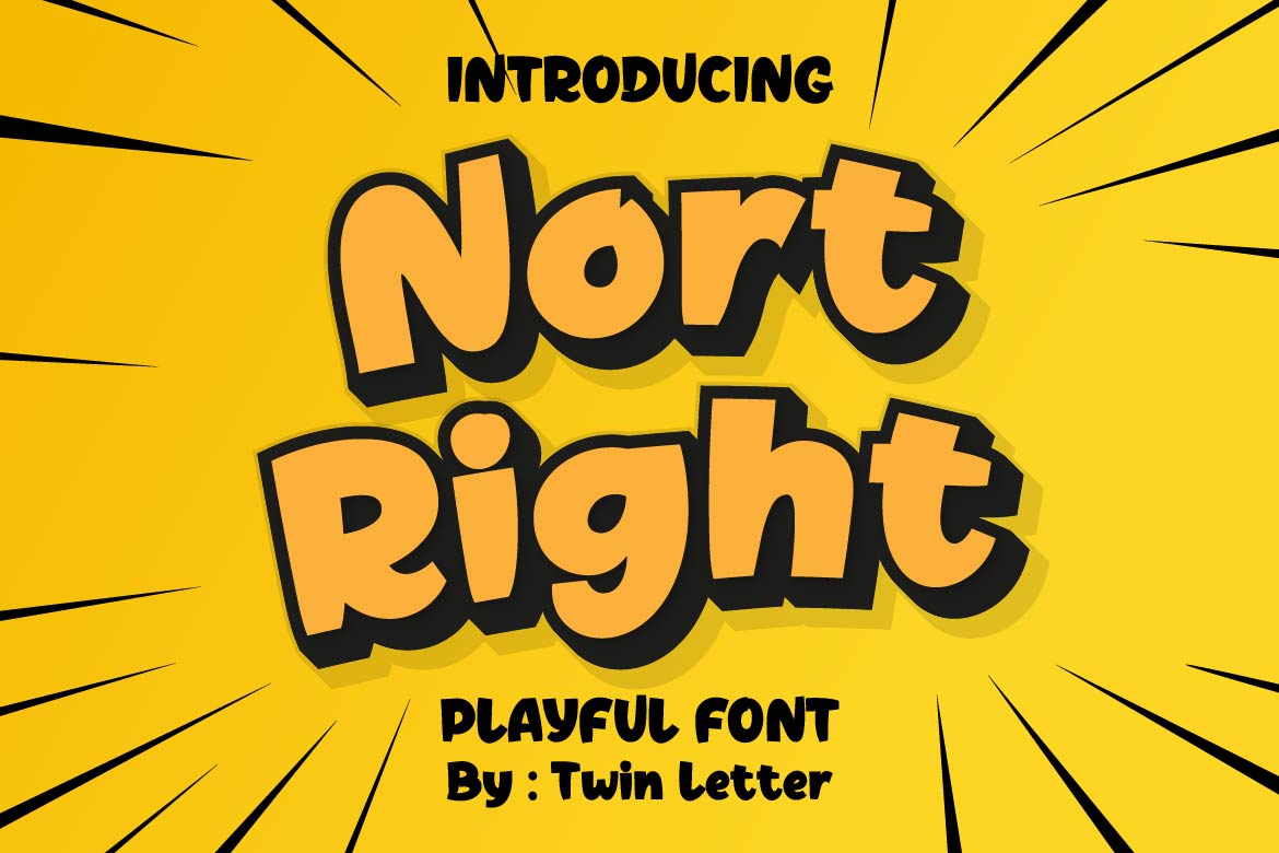 Nort Right Display Font