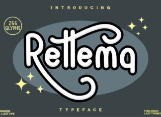 Rettema Display Font