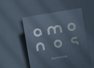 Amonos Display Font