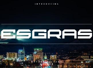 Esgras Font