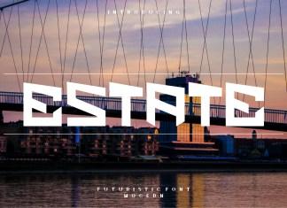Estate Font