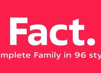 Fact Sans Serif Font