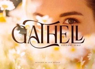 Gathell Serif Font