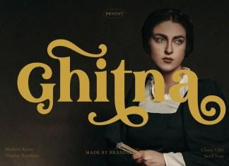 Ghitna Serif Font
