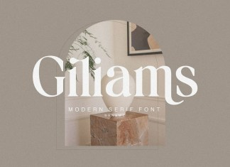 Giliams Serif Font