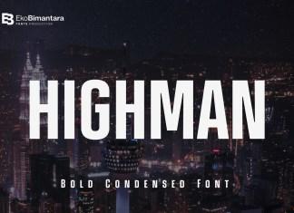 Highman Sans Serif Font