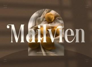 Mailvien Serif Font
