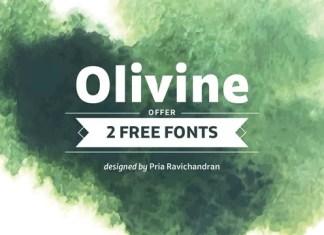 Olivine Sans Serif Font