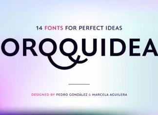 Orqquidea Sans Serif Font