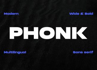 Phonk Sans Serif Font