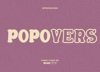 Popovers Display Font