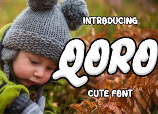 Qoro Display Font