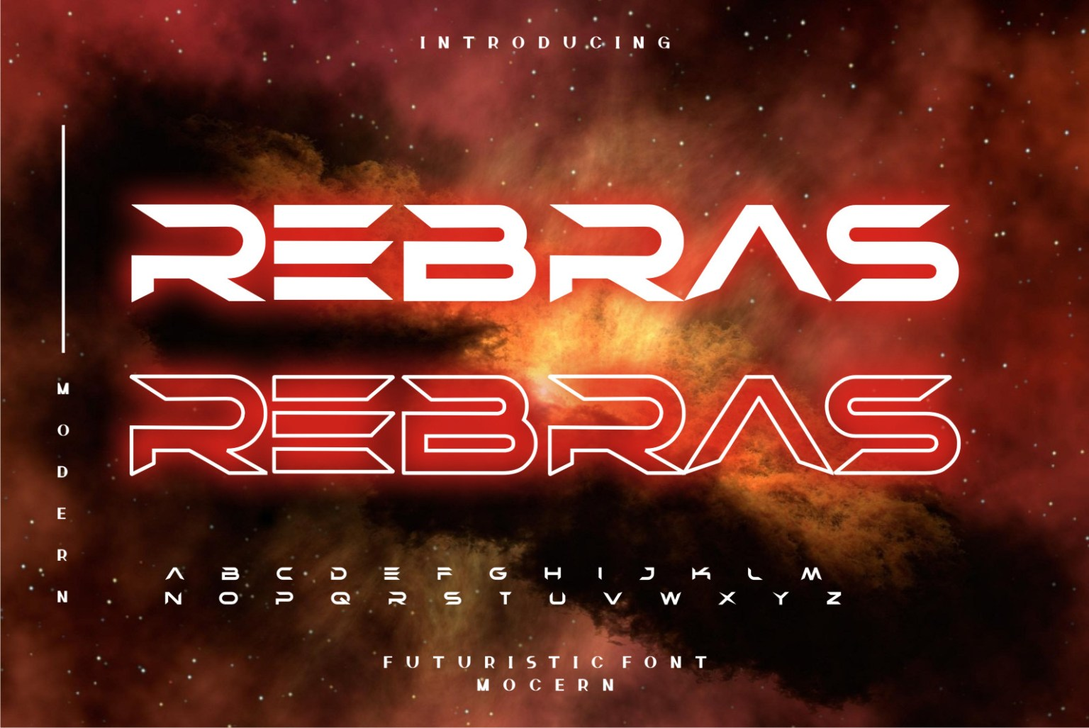 Rebras Display Font