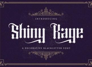 Shiny Kage Blackletter Font