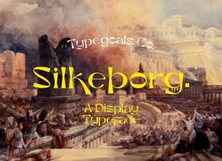 Silkeborg Display Font