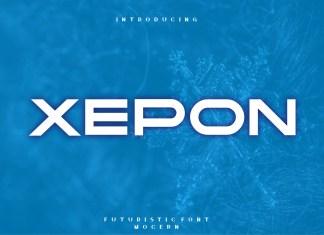 Xepon Display Font