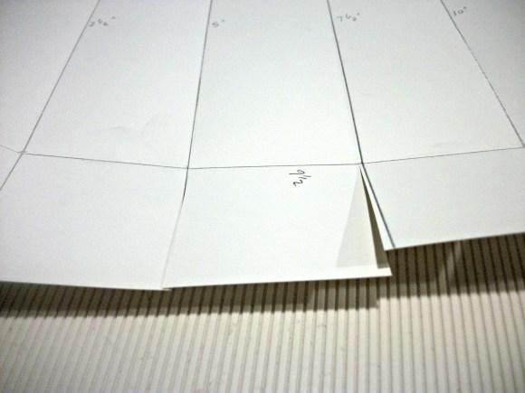 cut up score lines