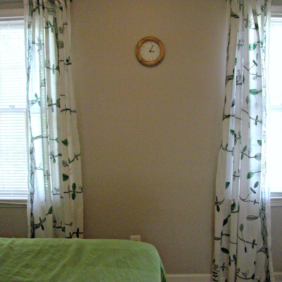 both curtains