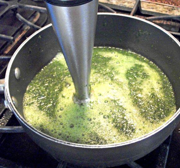 creamed kale