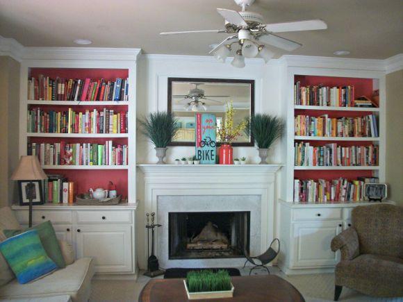 more bookshelves