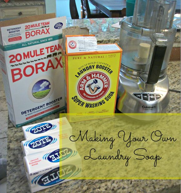 Make your own laundry soap for 4 cents a load!