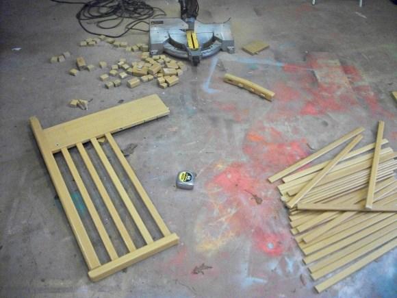 Cut Rails for Racks