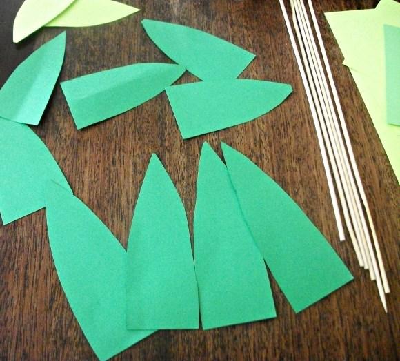 cut leaves