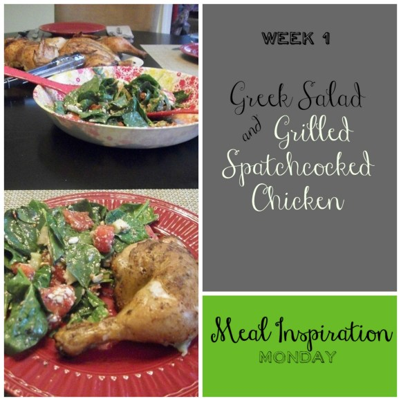Week 1 Meal Inspiration