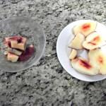 placing fruit in bowl