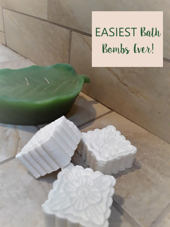 Easiest Bath Bomb Recipe Ever! Use a mooncake mold to make it even easier! Before3pm.com