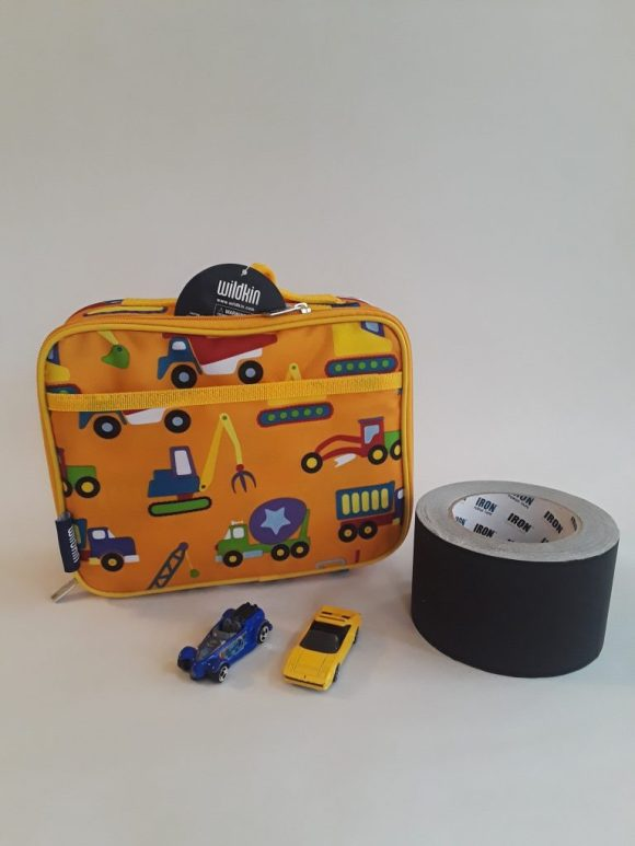 DIY Road Tape Gift. A great gift for boys! Before3pm.com