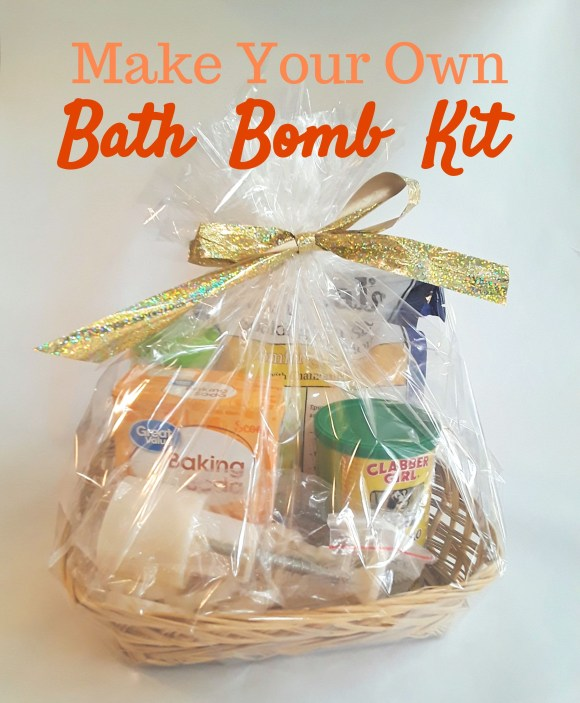 Make a DIY bath bomb kit. A great gift for kids and adults alike! Before3pm.com