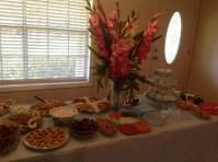 *food table