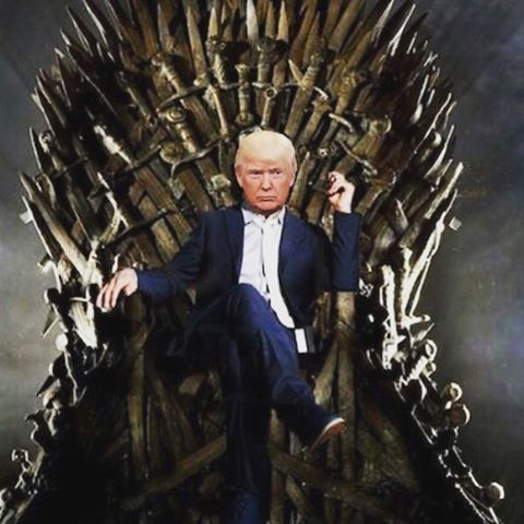 Image result for trump iron throne