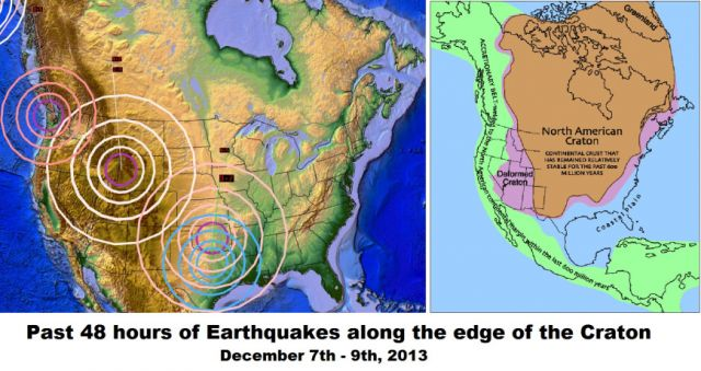 New Madrid Showing Continuous Activity! Quakes Tied To Mysterious Booms Now Across 13 States In The Last Two Months! Craton-edge-earthquakes-december-9-2013