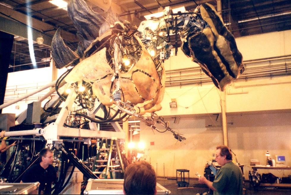 Sixth scale Godzilla