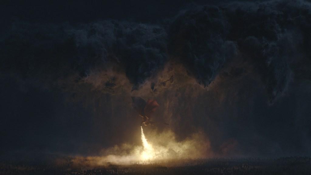 Game of Thrones' VFX storm