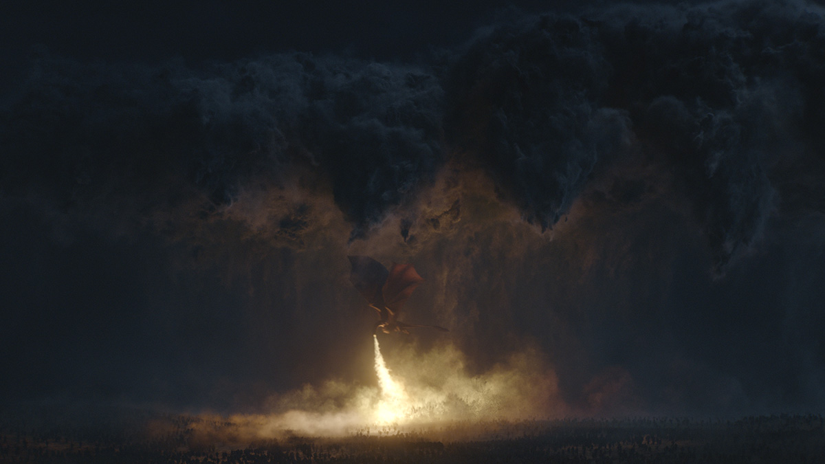 Game of Thrones' VFX storm