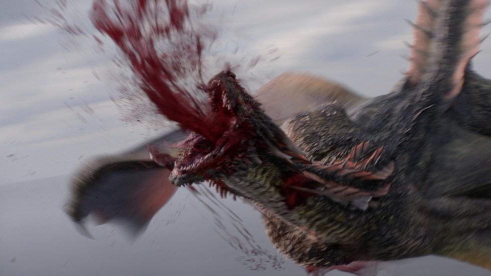 The death of Rhaegal VFX